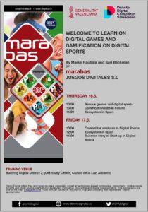 Marabas course in Digital Distritct Alicante
