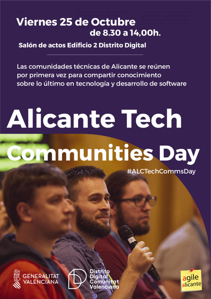 Alicante Tech Communitites Day 2019