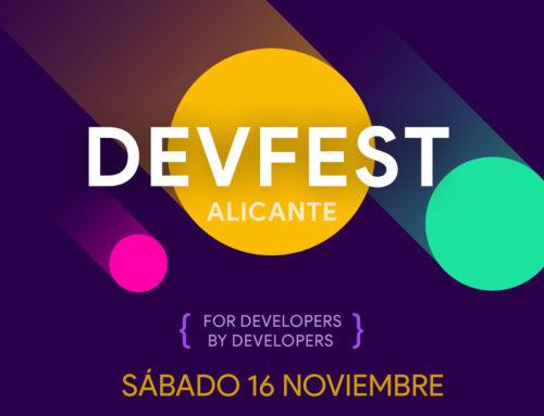 Primera Edición DevFest Alicante.