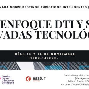 Jornada Destinos Turísticos Inteligentes Distrito Digital