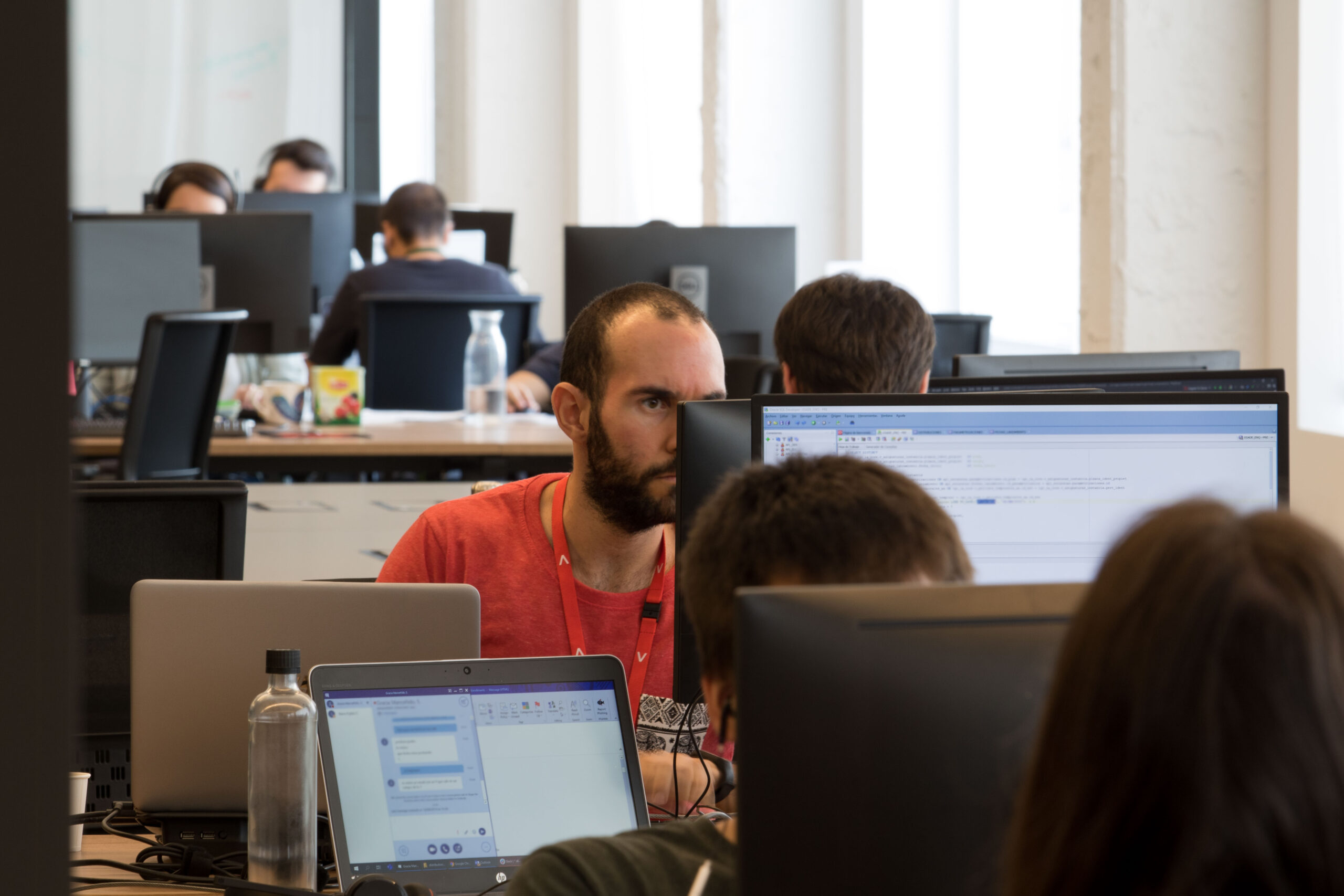 Empleo en el sector tech