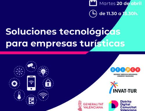 Jornada Soluciones tecnológicas para empresas turísticas